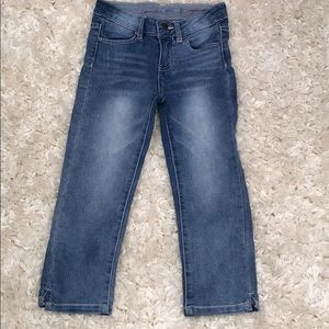 Girls Cropped Denim Capris
